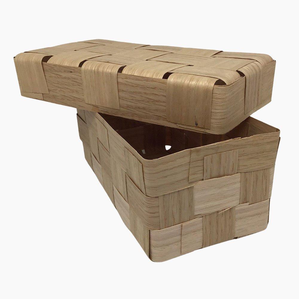 deep double oak box