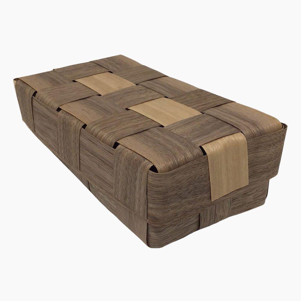 double box walnut