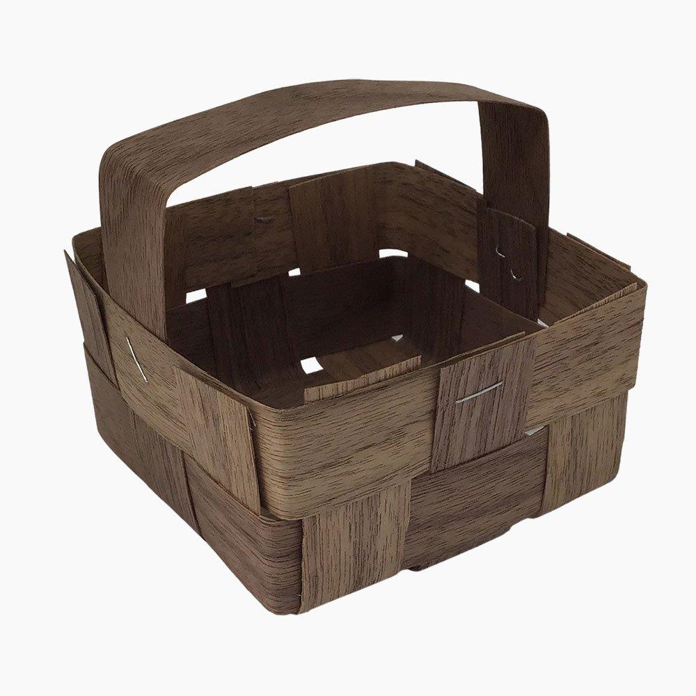 handle walnut box